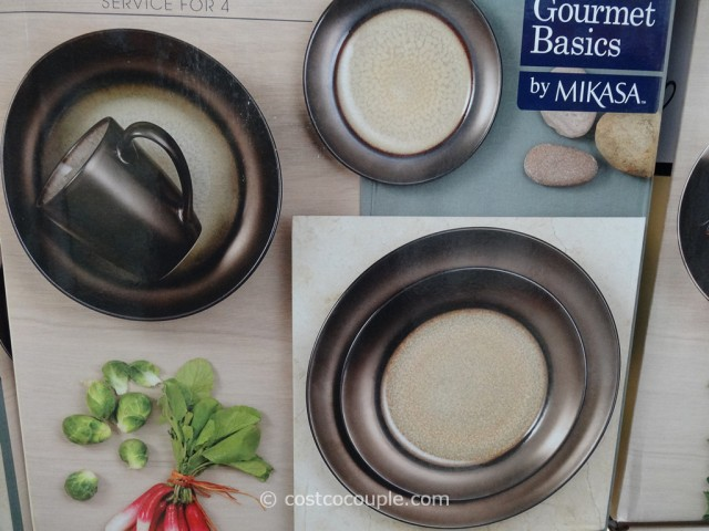 ... Mikasa Gourmet Basics Crescent Collection Dinnerware Set Costco 5 ... & Mikasa Gourmet Basics Crescent Collection Dinnerware Set