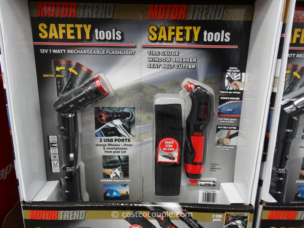 Motor Trend Emergency Safety Tools Costco 1