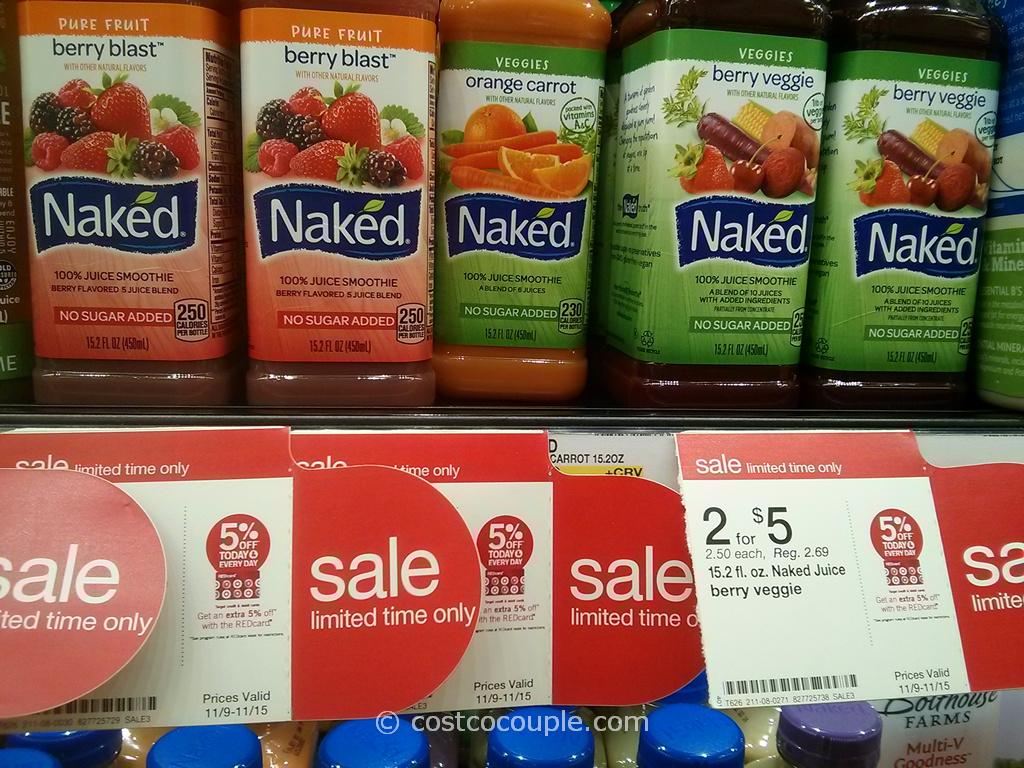 Naked Juice Smoothies Target