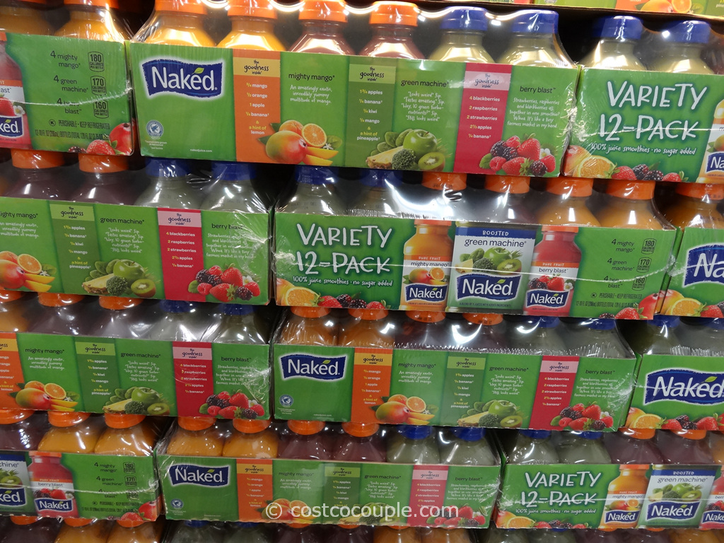 Naked Juice Variety Smoothies Costco 2
