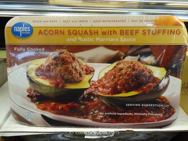 Naples Kitchen Acorn Squash With Beef Stuffing Costco 1