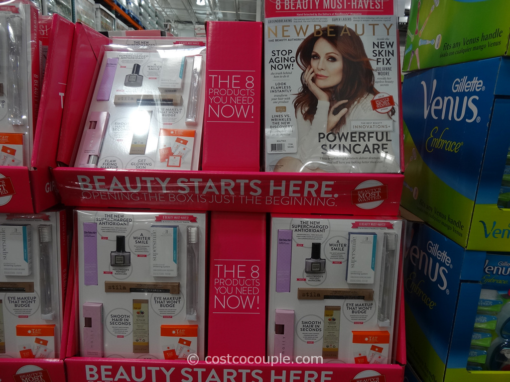 NewBeauty Beauty Box Fall Winter Issue Costco 4