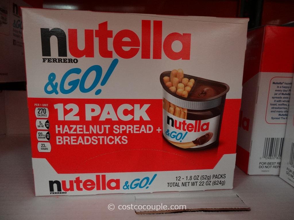 Nutella and Go Pack Costco 1