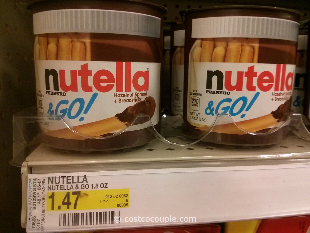 Nutella and Go Target
