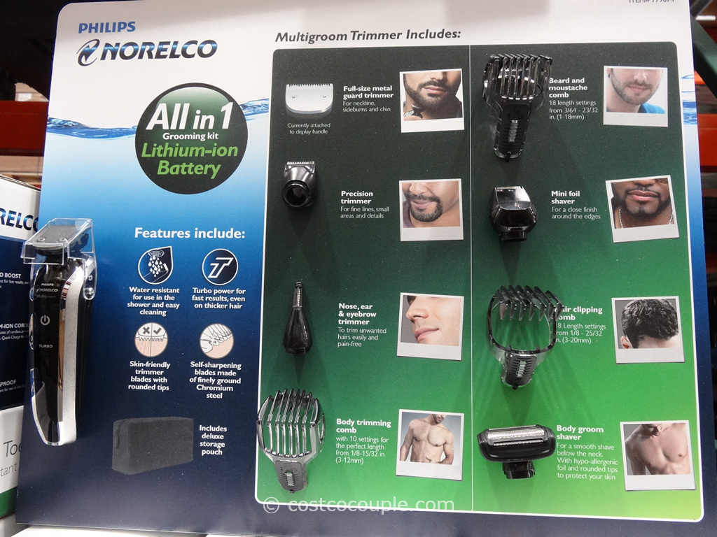 Philips Norelco Multigroom 7300 Costco 6