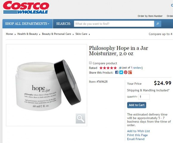 Philosophy Hope In A Jar Costco 1