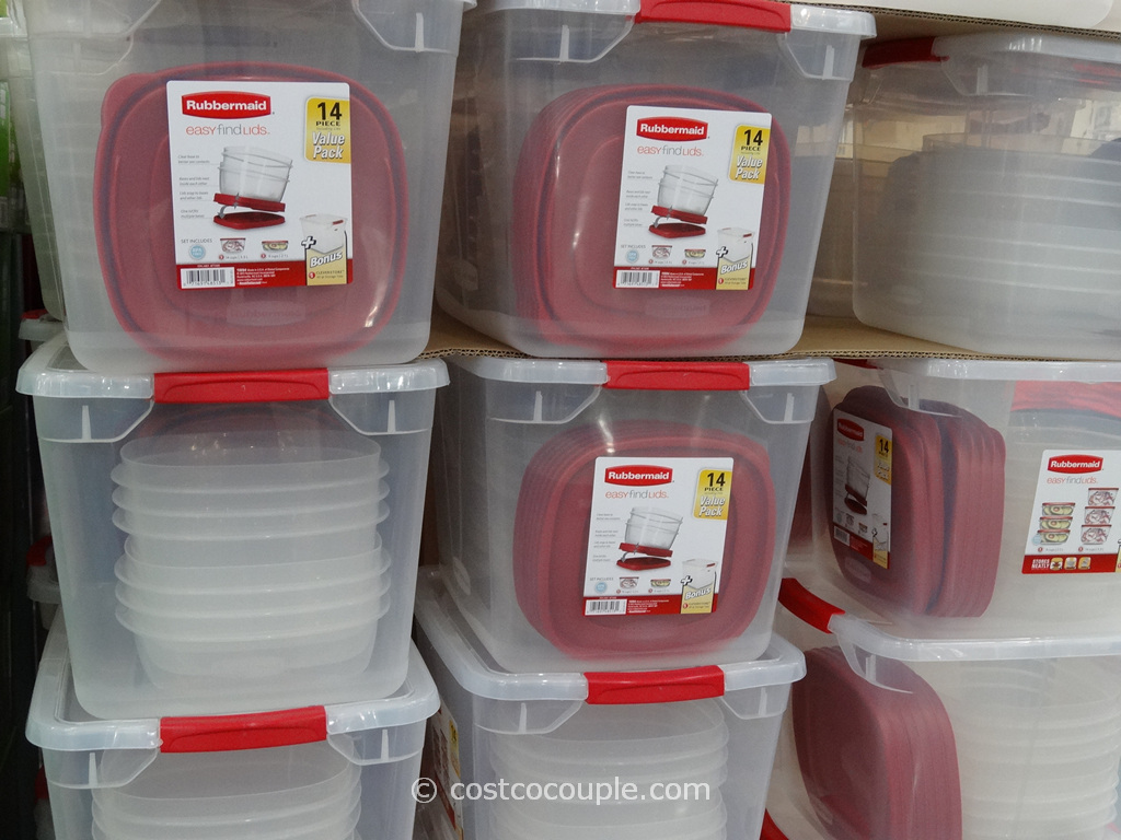 Rubbermaid 14-Piece Easy Find Lids Set Costco 3