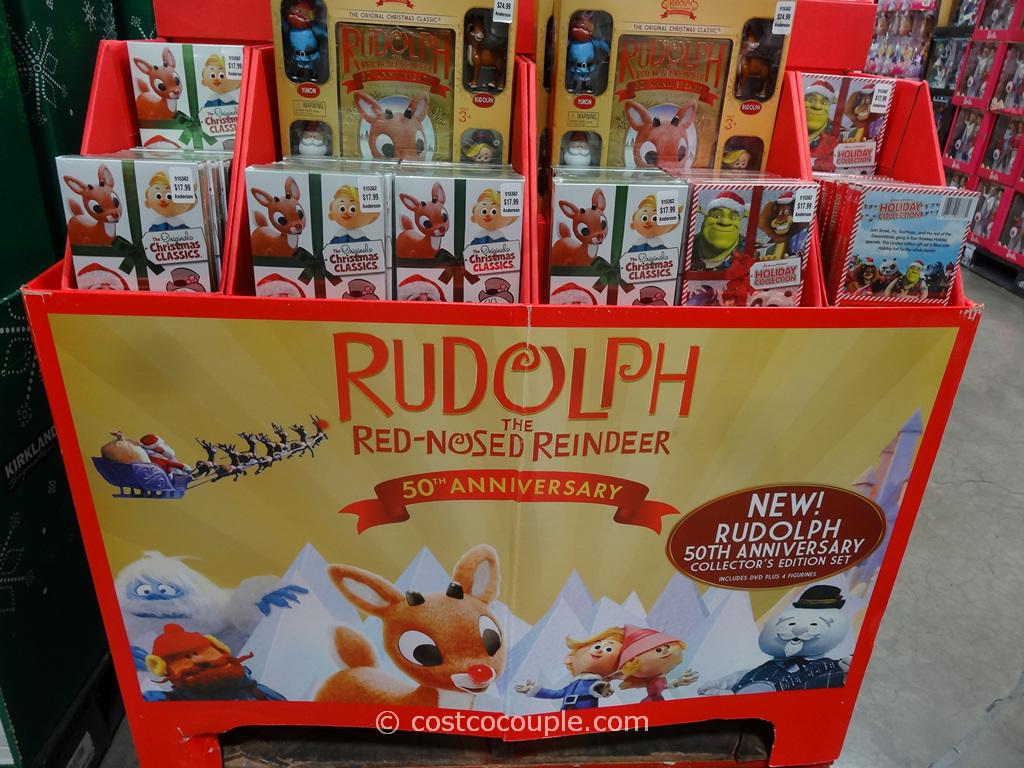 Rudolph 50th Anniversay Collectors Edition Set Costco 1