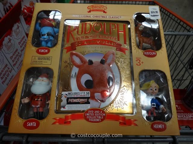 Rudolph 50th Anniversary Collectors Edition Set Costco 2