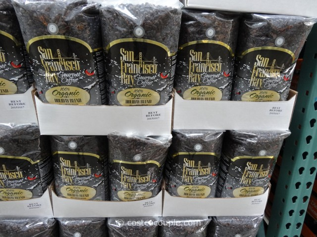 San Francisco Bay Organic Holiday Blend Coffee Costco 1