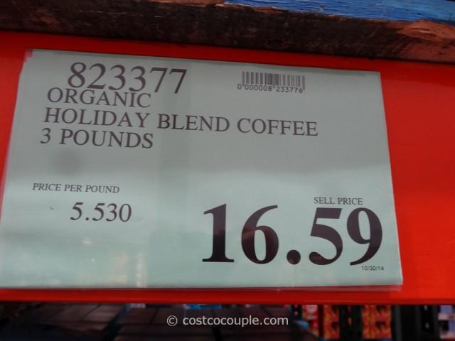 San Francisco Bay Organic Holiday Blend Coffee Costco 2