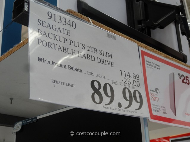 Seagate Backup Slim Bundle Costco 1