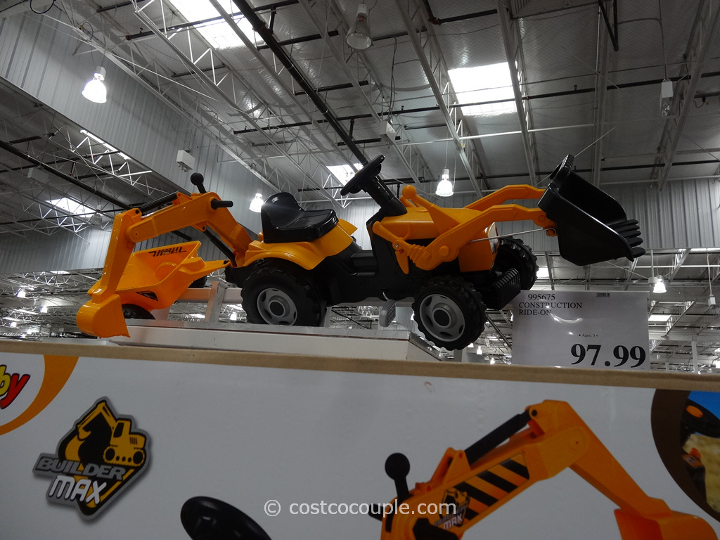 Smoby Toys Construction Ride-On Costco 1