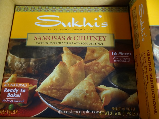 Sukhis Samosas And Chutney Costco 2