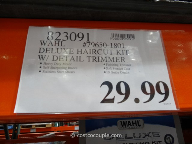 Wahl Deluxe Haircut Kit Costco 1