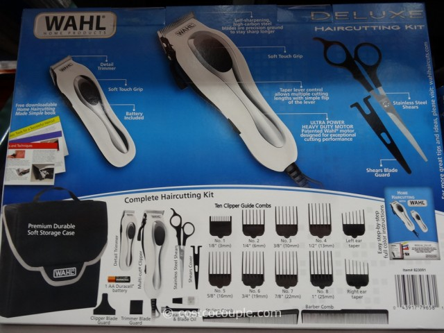 Wahl Deluxe Haircut Kit Costco 2