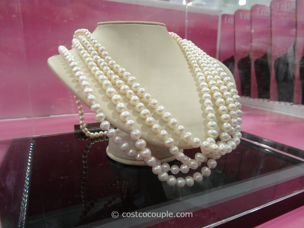 100-Inch Freshwater Endless Cultured Pearl Necklace Costco 4