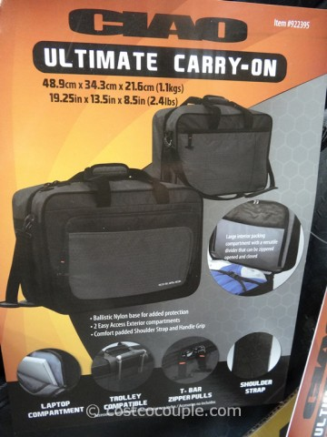 Ciao Ultimate Carry-On Costco 3