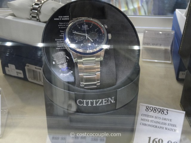 Citizen Eco-Drive Stainless Steel Costco 1