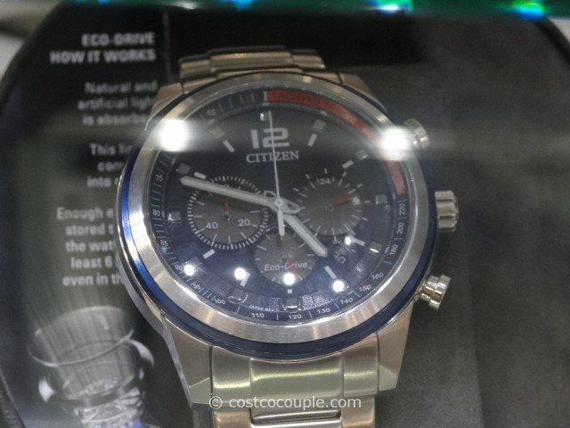 Citizen Eco-Drive Stainless Steel Costco 2
