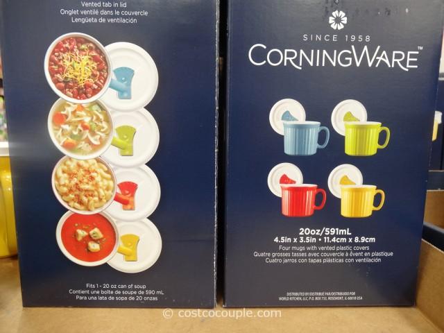 Corningware Mugs With Vented Lids Costco 2