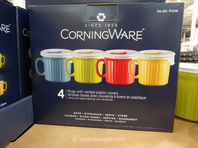 Corningware Mugs With Vented Lids Costco 3