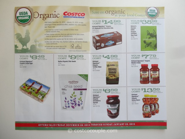 Costco Jan2015 Organic Instant Savings 2
