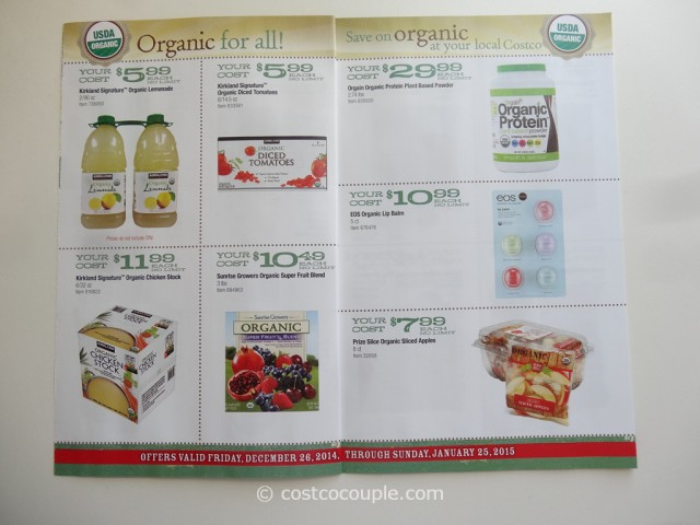 Costco Jan2015 Organic Instant Savings 3