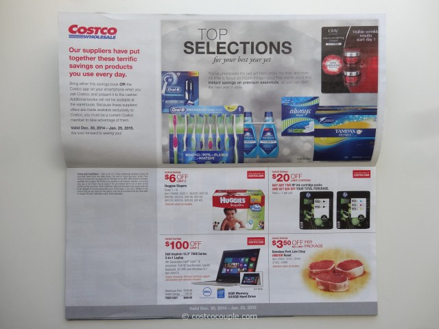 Costco January 2015 Coupon Book 2
