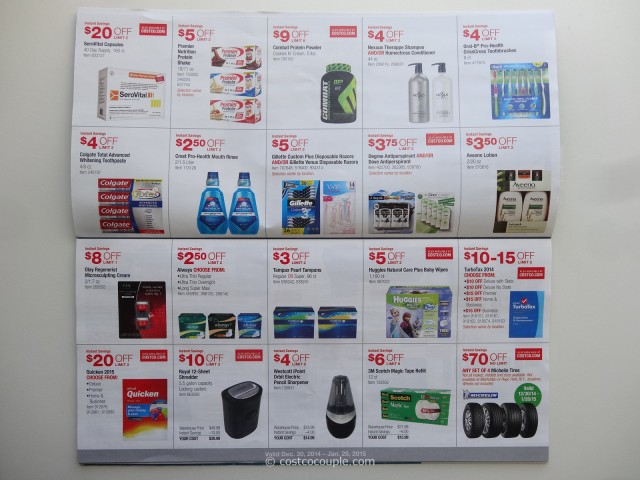 Costco January 2015 Coupon Book 3