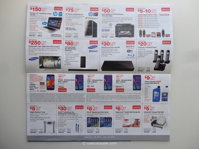 Costco January 2015 Coupon Book 4