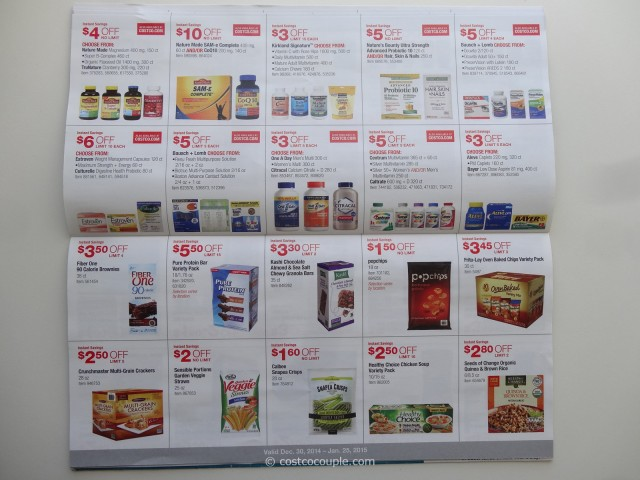 Costco January 2015 Coupon Book 6