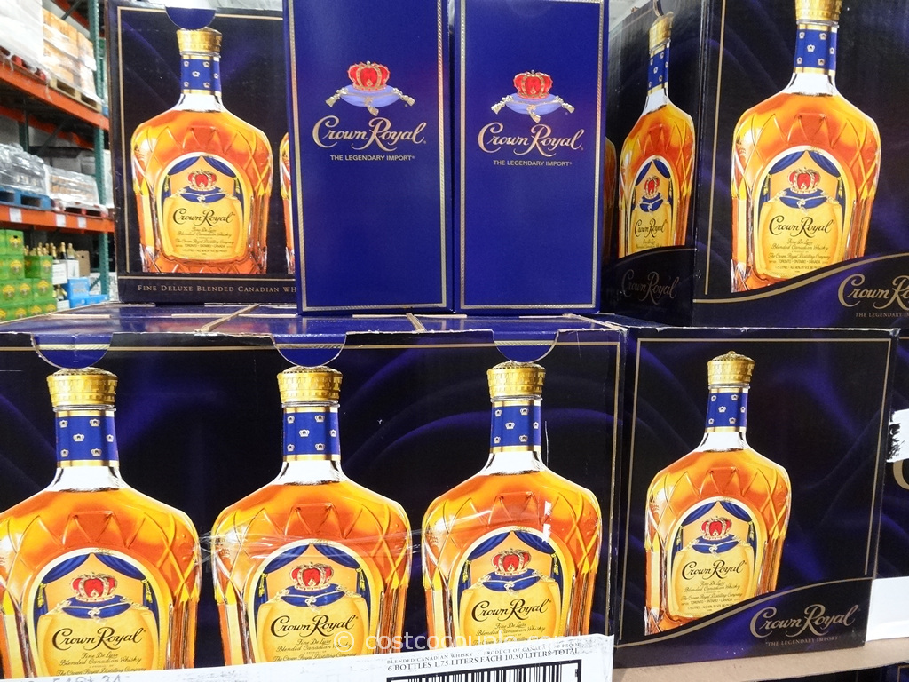 Crown Royal Canadian Whisky Costco 3