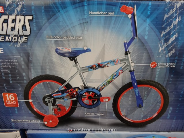 Disney Avengers 16-Inch Bicycle Costco 4