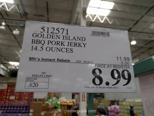 Golden Island BBQ Pork Jerky