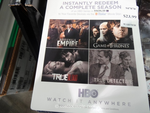 HBO Series Digital HD Costco 2