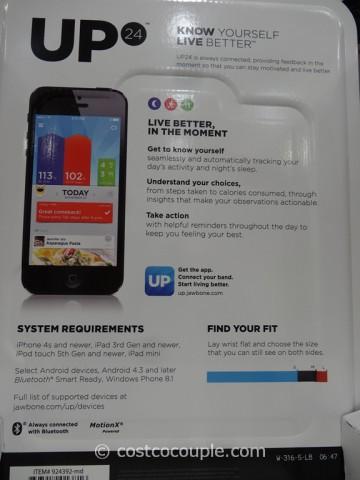 Jawbone Up24 Bluetooth Activity Tracker Costco 3