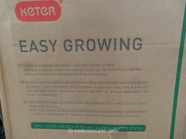 Keter Easy Grow Elevated Bed