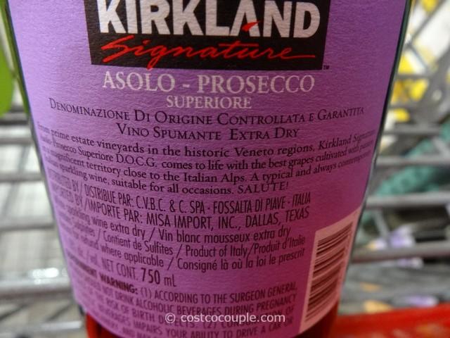 Kirkland Signature Asolo Prosecco Costco 5
