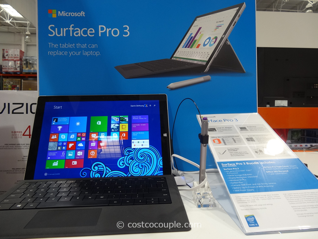 Microsoft Surface Pro 3 Costco 2