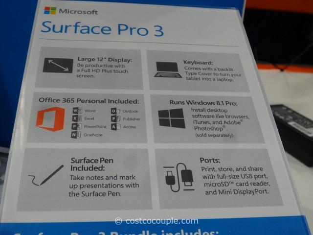 Microsoft Surface Pro 3 Costco 4