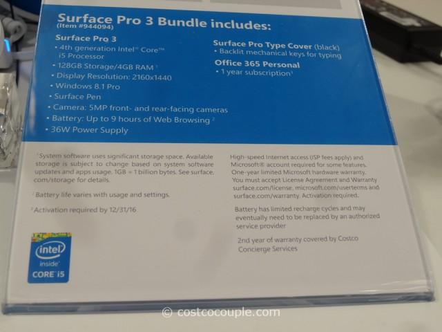 Microsoft Surface Pro 3 Costco 5