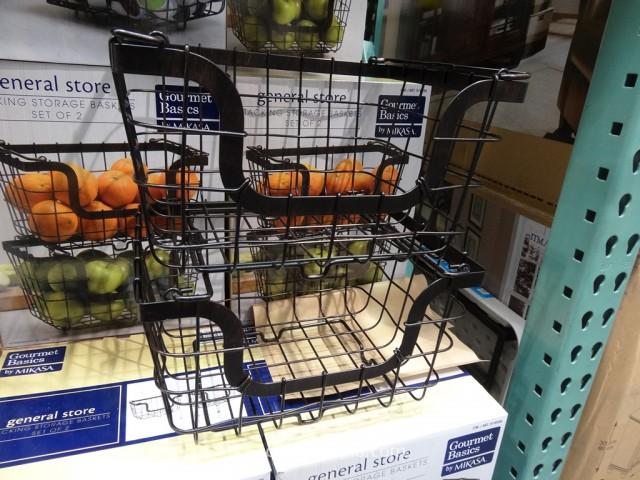 Mikasa Stacking Storage Baskets Costco 2