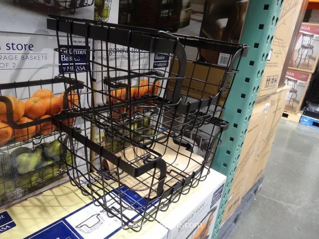 Mikasa Stacking Storage Baskets Costco 3