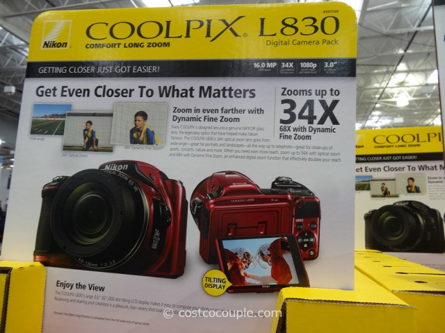 Nikon Coolpix L830 Costco 2