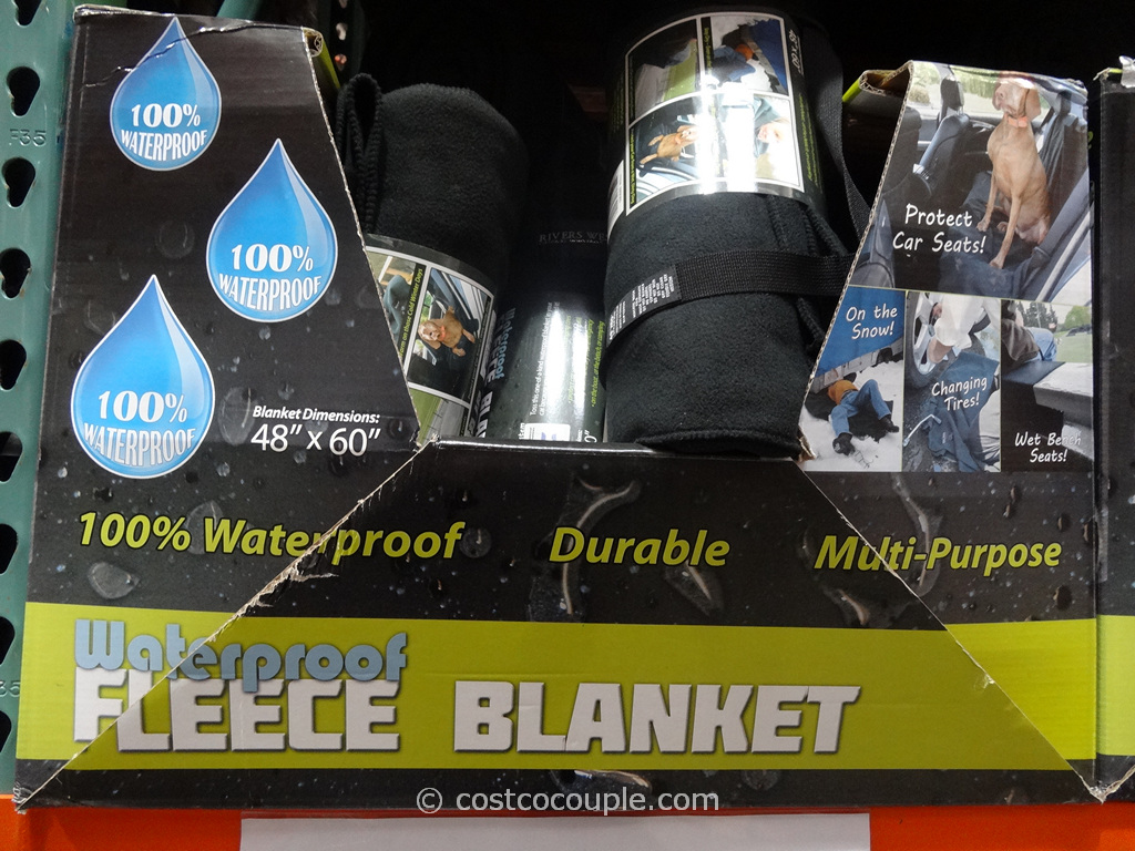 River West Waterproof Fleece Blanket Costco 2