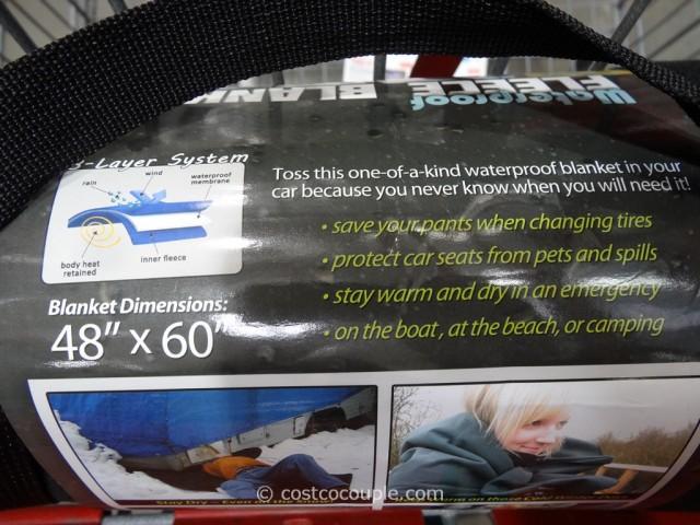 River West Waterproof Fleece Blanket Costco 5
