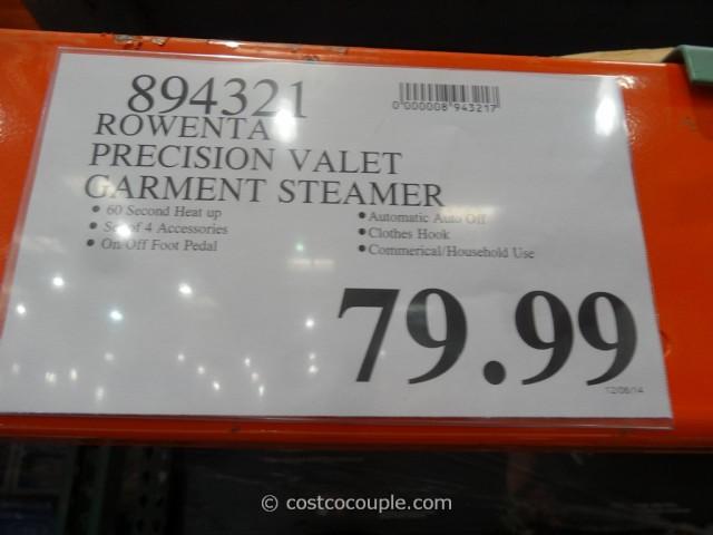 Rowenta Precision Valet Garment Steamer Costco 1