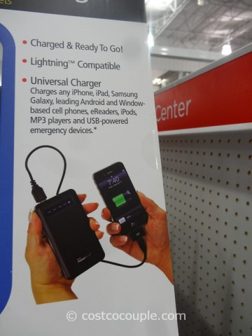Royal Portable Cell Phone and Tablet Charger Costco 4