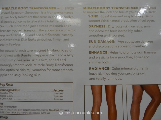 Sarah McNamara Miracle Body Transformer Costco 2